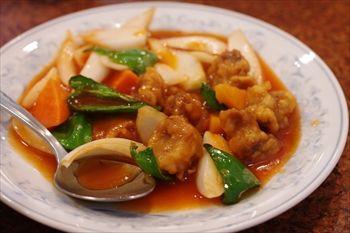 横浜中華街にある中華料理店「慶福楼」の酢豚