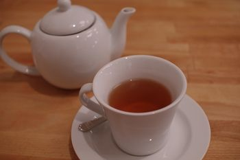 横浜元町のフレンチ「ブラッスリーアルティザン」の紅茶