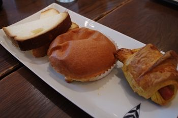 横浜桜木町にあるパン屋さん「ブレドール」のパン