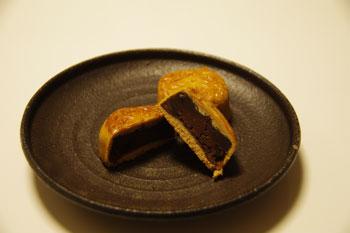 崎陽軒 キュービックプラザ新横浜店で買ったチョコ月餅