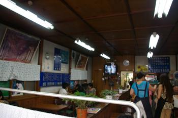 横浜天王町のかき氷屋「村田屋」の店内
