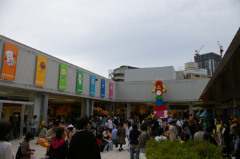 横浜アンパンマンこどもミュージアムのショッピングモール