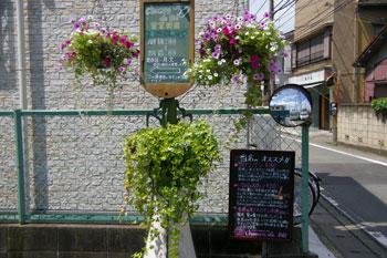 新横浜のおいしいパン屋「シャン ド ブレ」の入り口