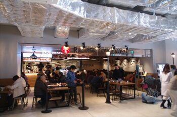 横浜ハンマーヘッド内にある「JAPAN RAMEN FOOD HALL」