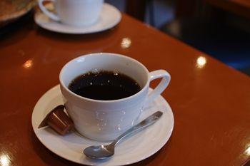 横浜菊名にあるとんかつ屋さん「とんかつ かつき」のコーヒー