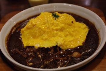 トレッサ横浜にあるカフェ「星乃珈琲」のオムライス