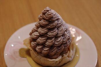 渋谷にある洋菓子店「 モリ・ヨシダ・パリ」のモンブラン