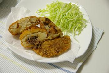 横浜高島屋「大九州展」の肉のなかむらのコロッケ