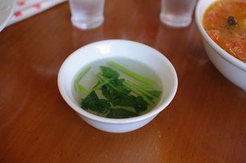 横浜山手にある中華料理店「李園」のスープ