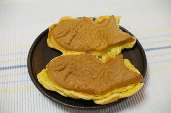 トレッサ横浜で買う鯛焼き「おめで鯛焼き本舗」の鯛焼き