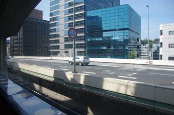 横浜西口にあるイタリアンのお店「ベジテーブル」からの眺め