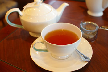 ららぽーと横浜のカフェ「フォートナム・アンド・メイソン」の紅茶