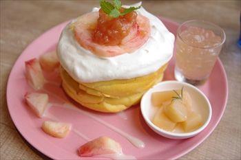 武蔵小杉にあるパンケーキ専門店「3 STARS PANCAKE」のパンケーキ