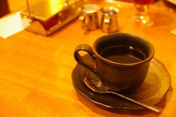 スープカレーのおいしいお店「アジョワン(ajowan)」のコーヒー