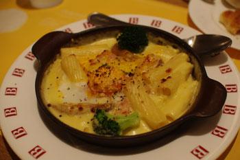 ヨドバシ横浜の「ベーカリーレストラン バケット」のランチ