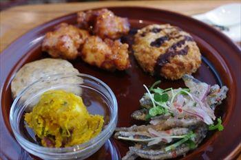 横浜ベイクオーターにあるカフェ「Cafe&Meal MUJI」のランチ
