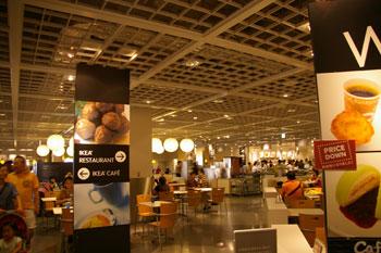 北欧インテリアのお店「IKEA 港北」のレストラン