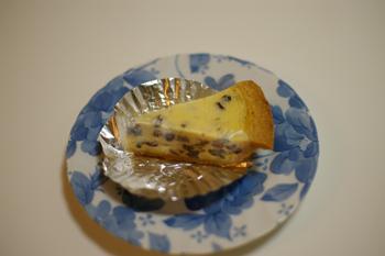 ガトーよこはまのラムレーズンチーズケーキ