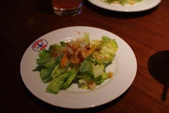 横浜ランドマークプラザのレストラン「JO'S BAR」のサラダ