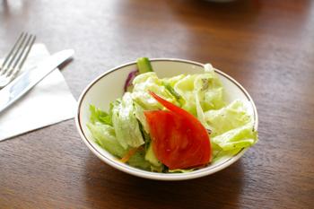 洋食キムラ新横浜店のプチサラダ