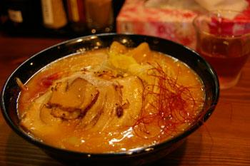 横浜東白楽のラーメン店「めんこい亭」の味噌ラーメン