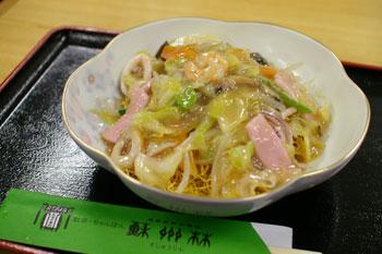 横浜高島屋「大九州展」の蘇州林の皿うどん