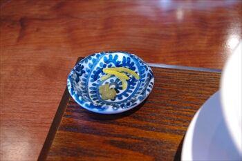 横浜関内にあるラーメン店「麺処 山一」の柚子