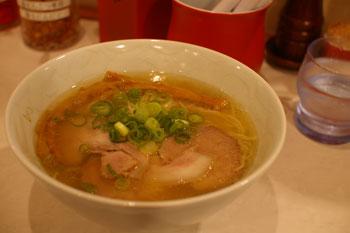 新横浜ラーメン博物館の「らぁ麺 むらまさ」の塩ラーメン
