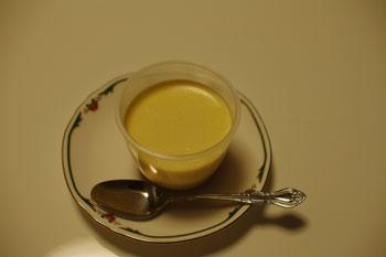 横浜大倉山のケーキショップ「パティスリー ピオン」のプリン