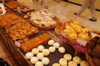 横浜みなとみらいワールドポーターズのパン屋「ル・ボ・パン」のパン