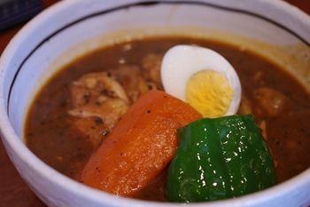 横浜綱島にあるスープカレーのお店「ハンジロー」のスープカレー