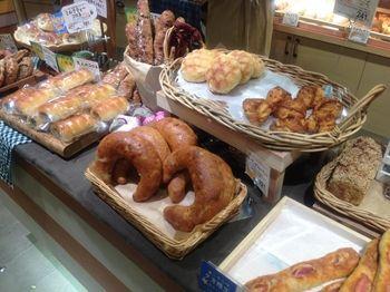 渋谷ヒカリエのパン屋「ラ ブランジュリ キィニョン」の店内