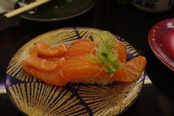 横浜にある回転寿司のお店「回し寿司 活」のお寿司