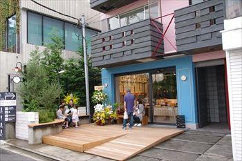 渋谷にあるパン屋「SHIBUichi BAKERY」の外観