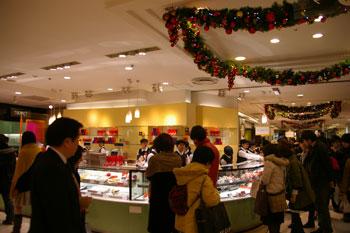 横浜そごうのデパ地下にあるケーキショップ「シーキューブ」