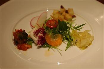 伊勢原にあるイタリアン「リストランテ アルベロベッロ」の前菜