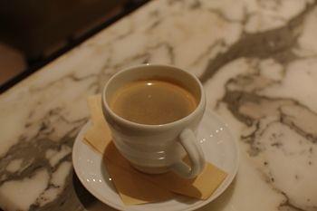 新横浜プリンスペペにあるカフェ「ケユカカフェ」のコーヒー