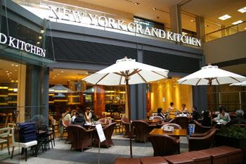 クイーンズスクエア横浜のニューヨークグランドキッチンの外観