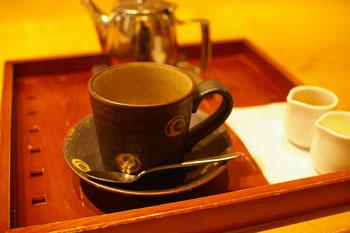 横浜センター北の「CAFE SALON SONJIN」のコーヒー