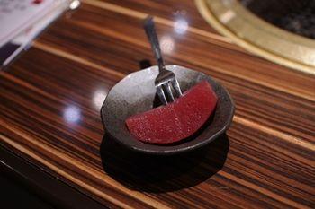 横浜元町にある焼肉屋さん「食彩和牛 しげ吉」のデザート