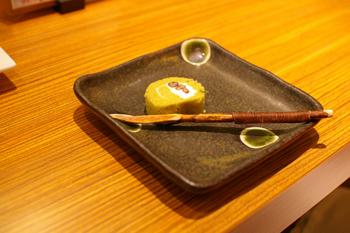 横浜ランドマークの和カフェ「緑茶+話」のスイーツ