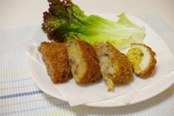 横浜市都筑区のお肉屋さん「野本畜産」のコロッケ2