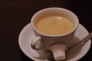 横浜関内にあるイタリアン「ヴィア トスカネッラ」のコーヒー