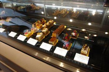 横浜にあるパウンドケーキ専門店「パブロフ」の店内