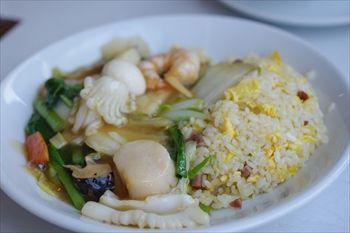 新高島にある中華料理店「中国美食 唐苑酒楼」のランチ