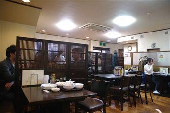 川崎にある中華料理店「成喜 」の店内