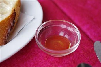横浜みなとみらいにあるレストラン「セレブ・デ・トマト」のハチミツ