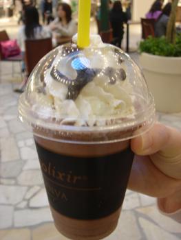 ゴディバのチョコレートドリンク「ショコリキサー」