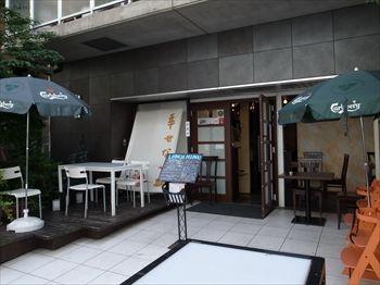 横浜日本大通りにある洋食店「洋食のtaku」の外観