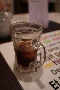 横浜元町にあるフレーバーコーヒーのお店「リトルココ」のコーヒー